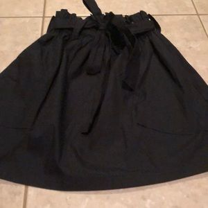 Urban outfitters black mini skirt